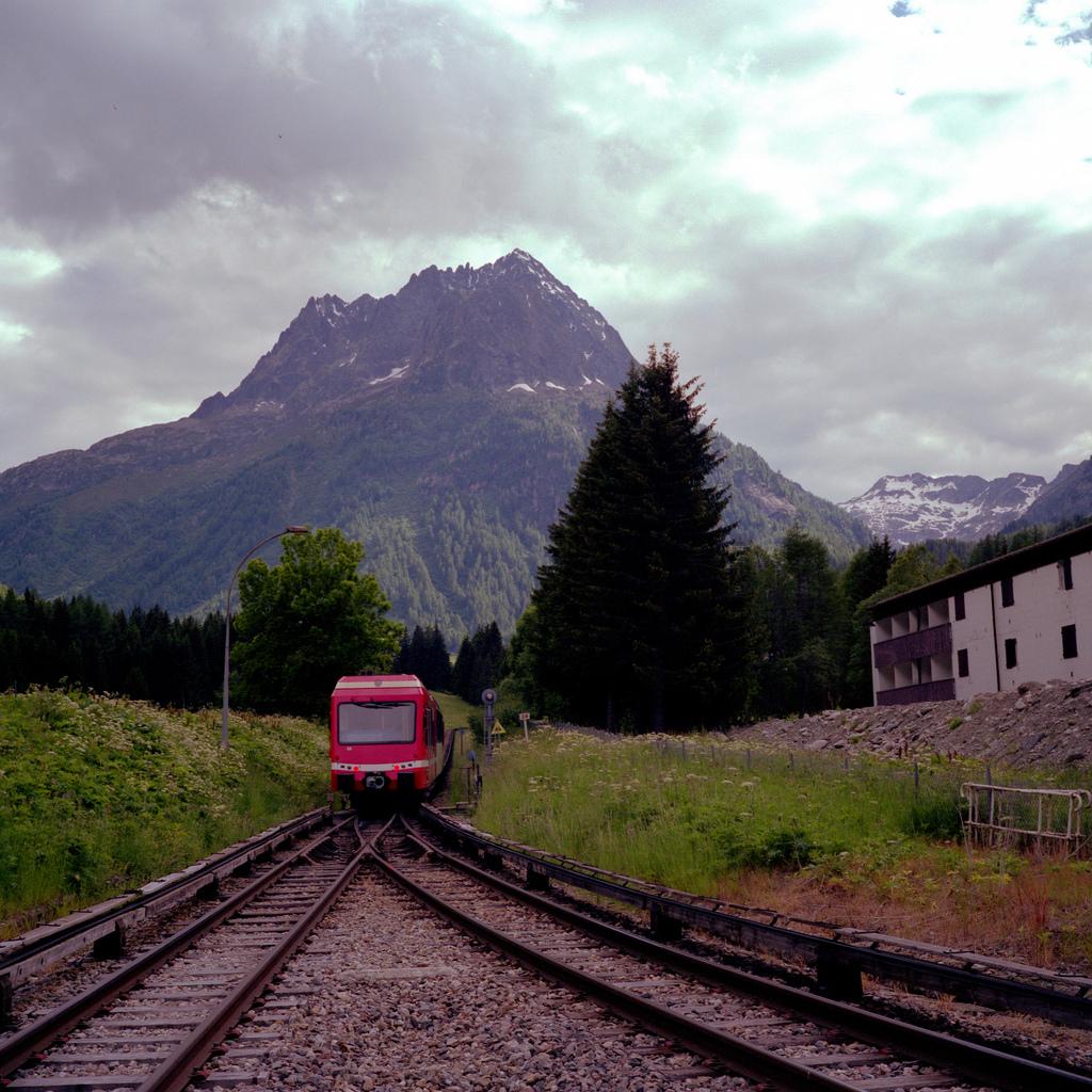 Train à Vallorcine