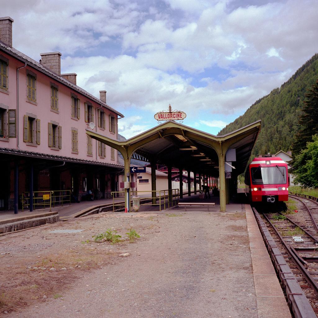 Gare de Vallorcine