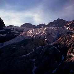 Ecrins: Pic du glacier d'Arsine