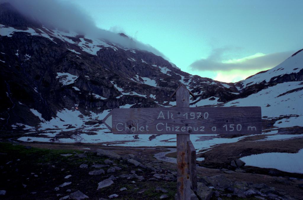 Chalet Chizeruz a 150m