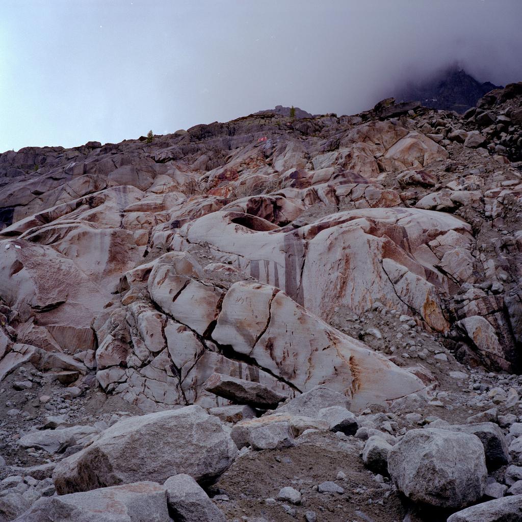 La montagne s'écroule