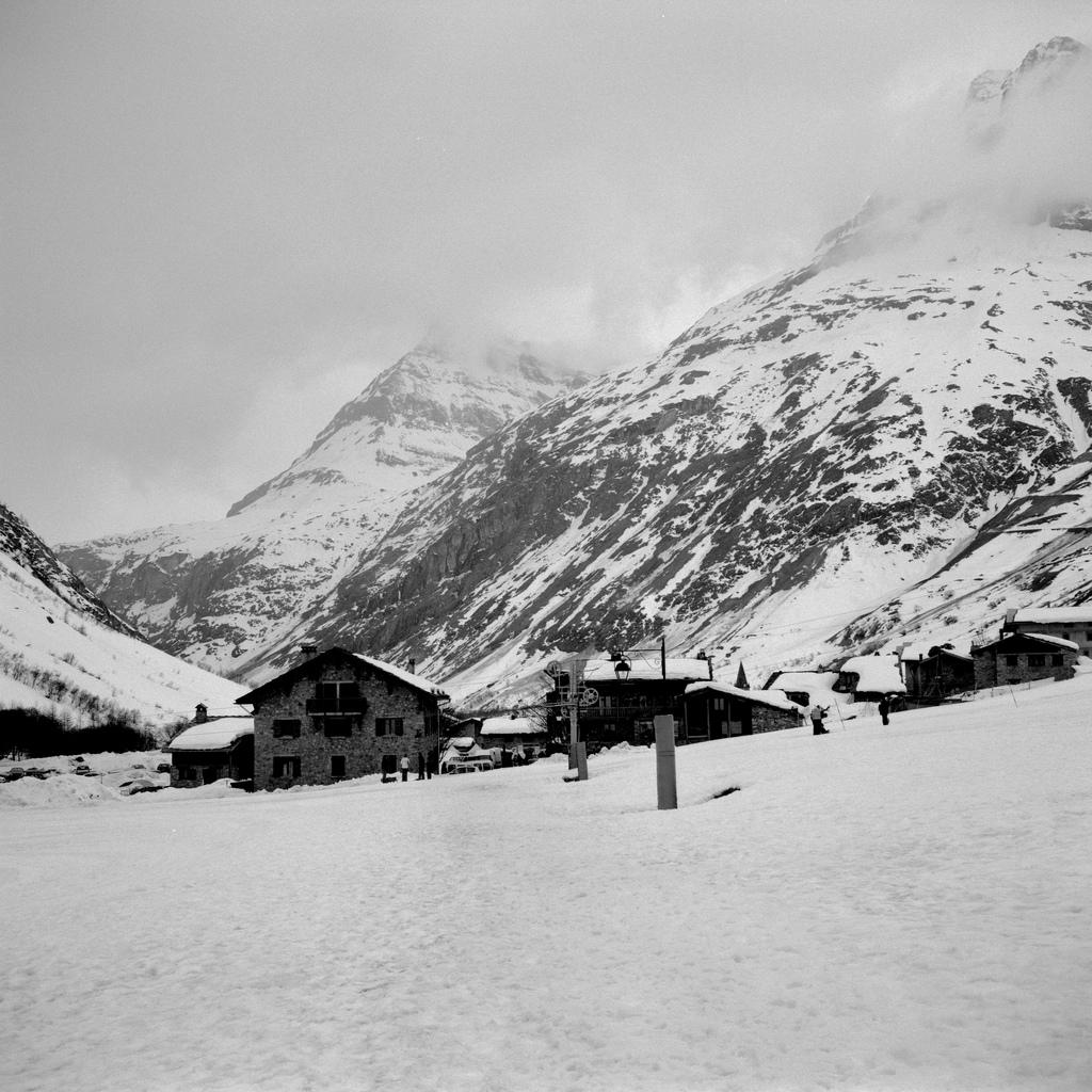 Une piste de ski à Bonneval sur Arc