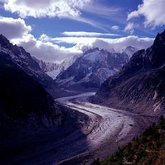 Promenade au refuge du Couvercle (Massif du mont Blanc) - Septembre 2012